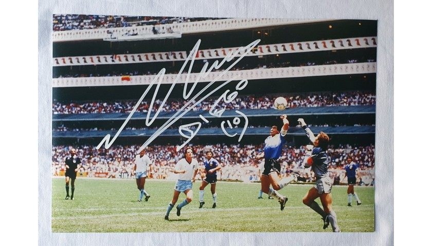 Photograph Signed by Maradona