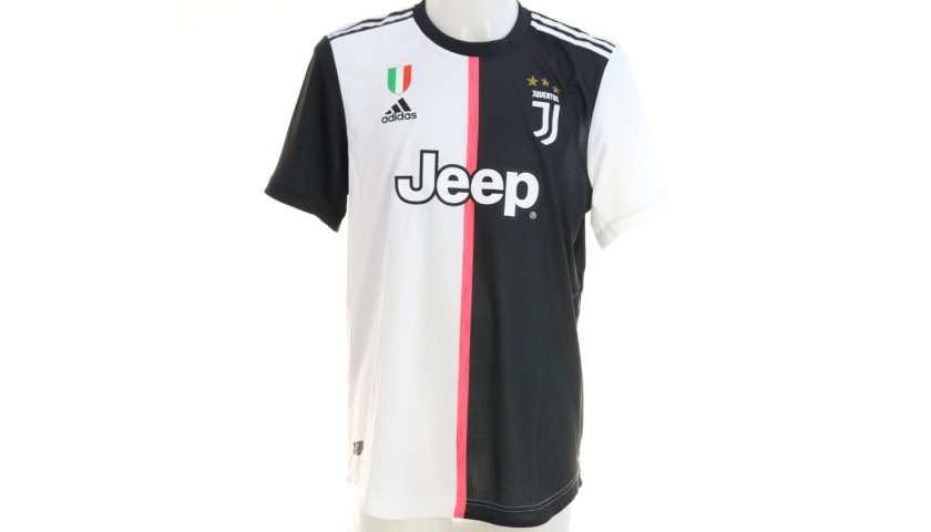 Ronaldo's Authentic Juventus Signed Shirt, 2019/20