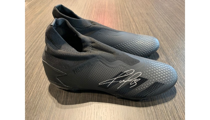 Adidas Predator Boots - Signed by Pogba