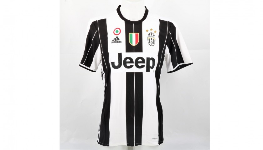 Pjanic's Juventus Shirt, Issued/Worn 2016/17 - Signed