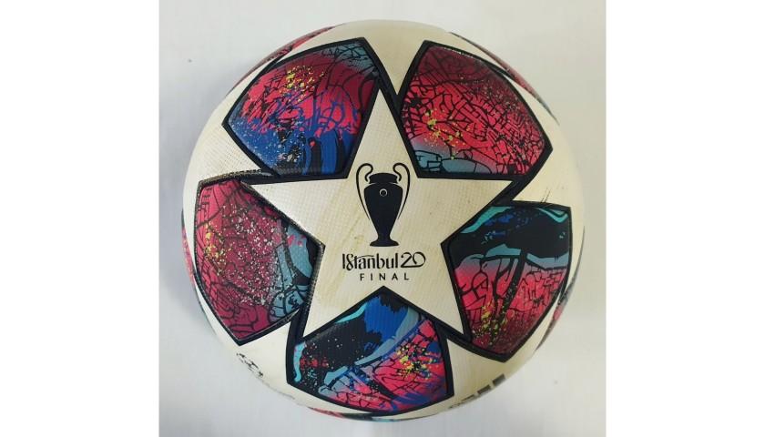 Match-Ball PSG-Bayern Munich 2020 - Signed by Coman