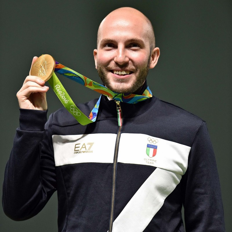Glove Worn by Niccolò Campriani at Rio 2016