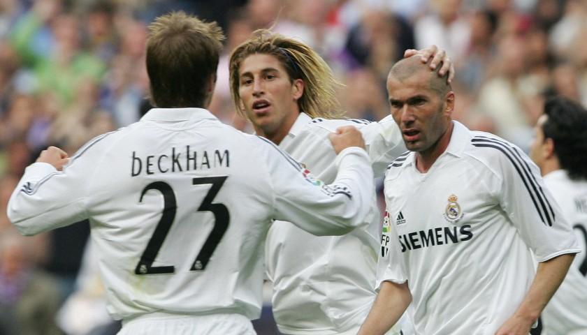 Zidane's Real Madrid Match Shirt, Last Match, 2006