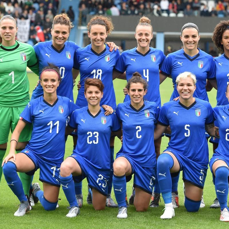 Serturini's Match Shirt, Israel-Italy 2019