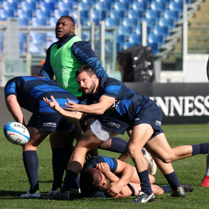 Assisti al Captain's run di Italia vs Francia del Guinness Sei Nazioni 2021