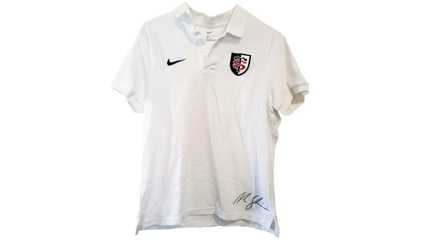 Ghiraldini's Worn and Signed Stade Toulousain Polo Shirt