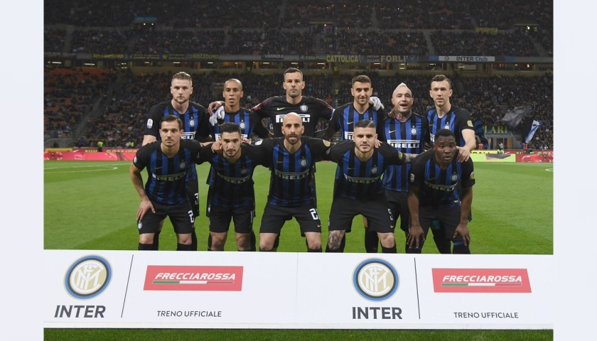 Handanovic's Worn Shirt, Inter-Chievo 2019 - Inter Forever Patch
