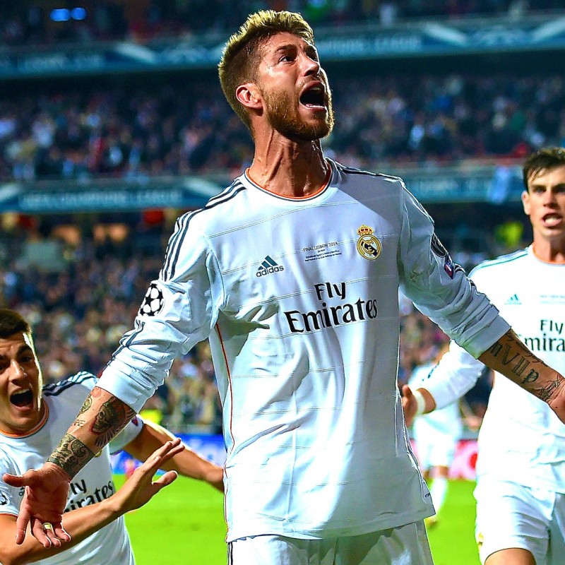 Ramos' Official Real Madrid Signed Shirt, 2013/14