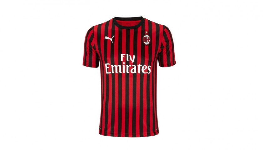 Official Milan Shirt 2019/20 - Signed by the Players