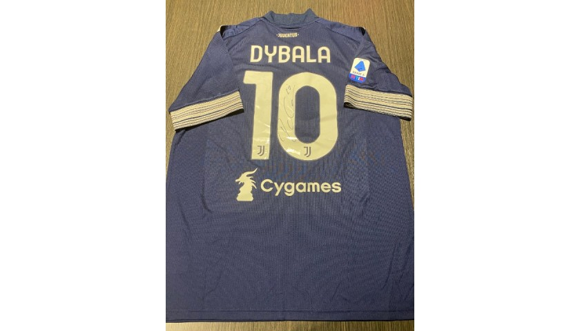 Dybala's Official Juventus Signed Shirt, 2020/21