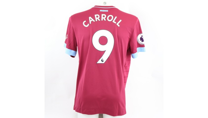 Carrol's Worn Shirt, Man City-West Ham 2019