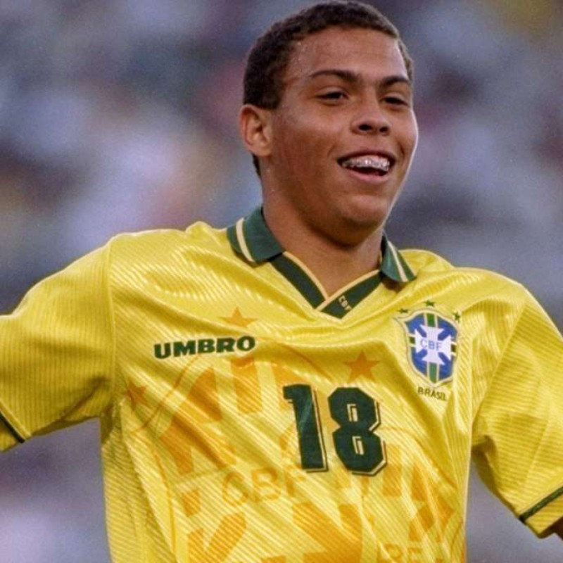 Ronaldo's Official Brazil Signed Shirt, 1994/95