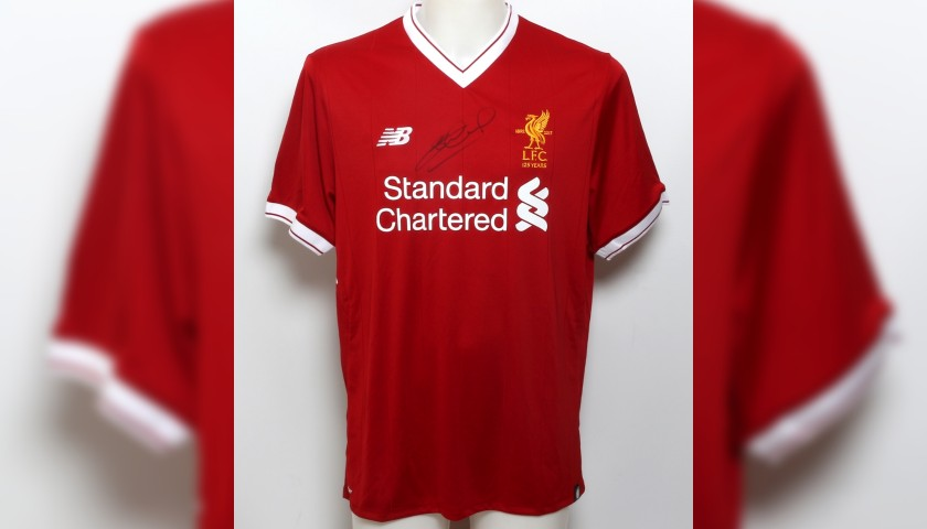 Liverpool FC Shirt Signed by Steven Gerrard 41bacff07