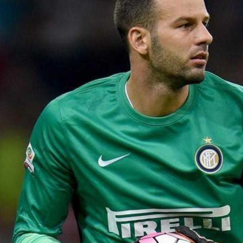Handanovic shirt, issued Inter-Milan 13/09/2015 - special shirt