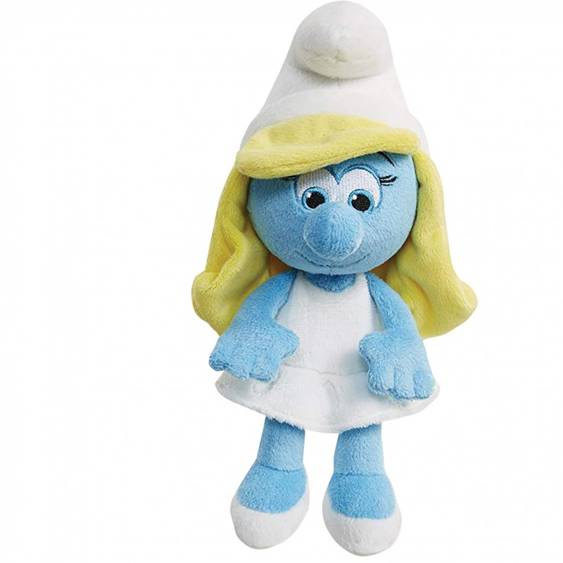 Receive a Stuffed Smurfette