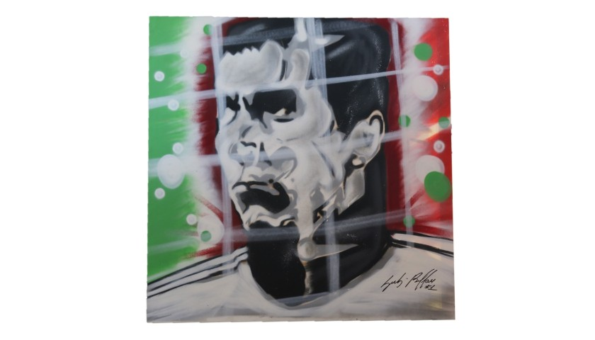 """Gigi Buffon"" Artwork by Antonio Shades - Signed"