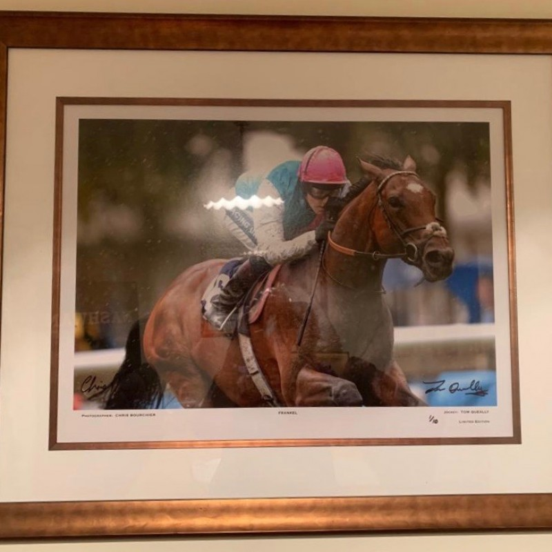 Signed and Framed Photograph of Frankel
