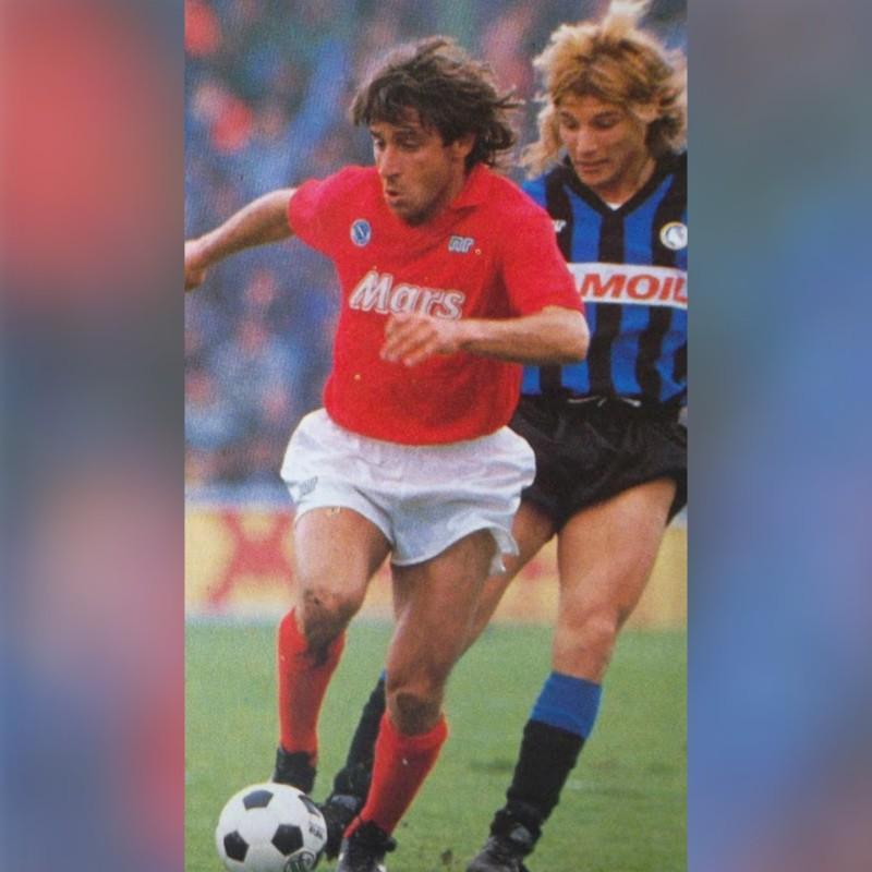 Crippa's Napoli Match Shirt, 1988/89