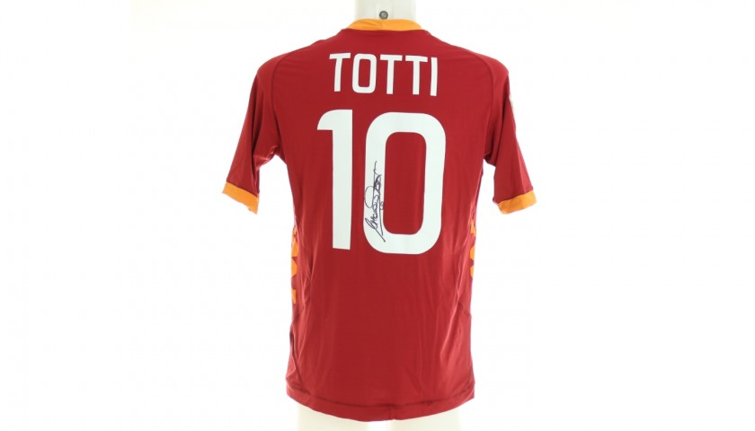 Totti's Official Roma Signed Shirt, 2011/12