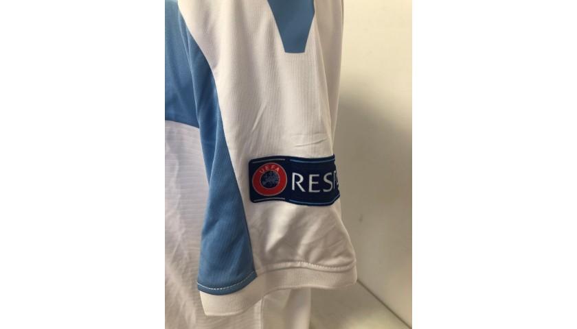 Caicedo's Match Shirt, Apollon-Lazio 2018