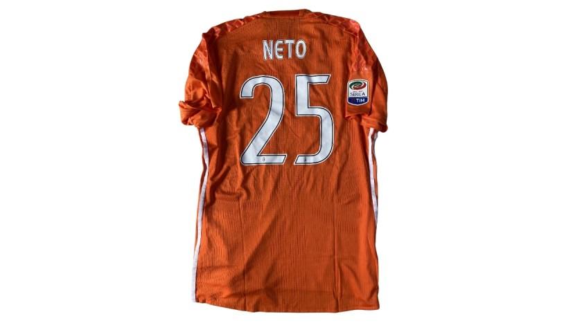 Neto's Juventus Match Shirt, 2016/17
