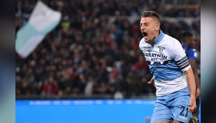 Sergej's Match-Issue Shirt, Atalanta-Lazio, TIM Cup Final 2019