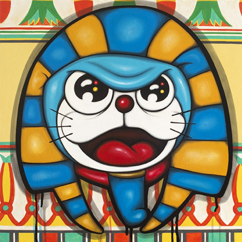 """Doraemon of Egypt"" by Max Ferrigno"