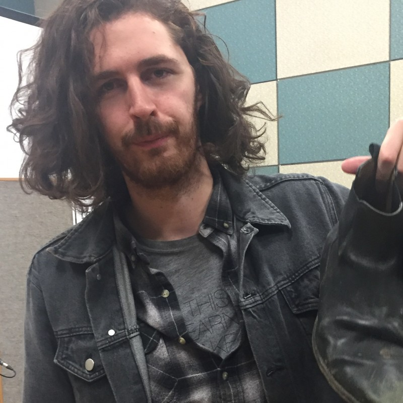 Andrew Hozier's Grenson Ankle Boots Autographed from his Personal Collection