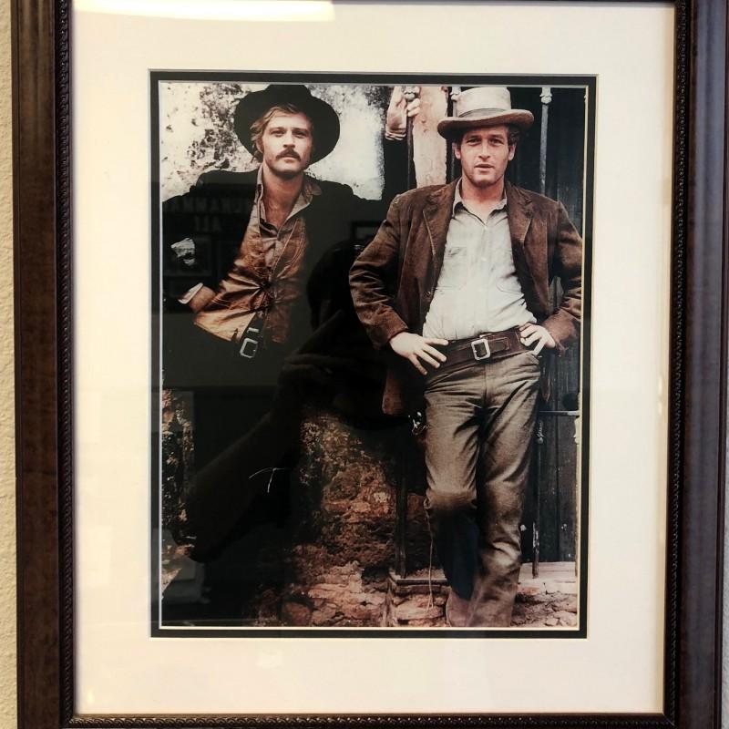 """""""Butch Cassidy & The Sundance Kid"""" Framed Photograph"""