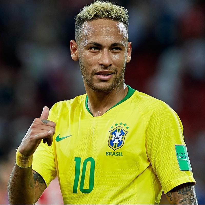 Neymar's Brazil Match Shirt, World Cup 2018