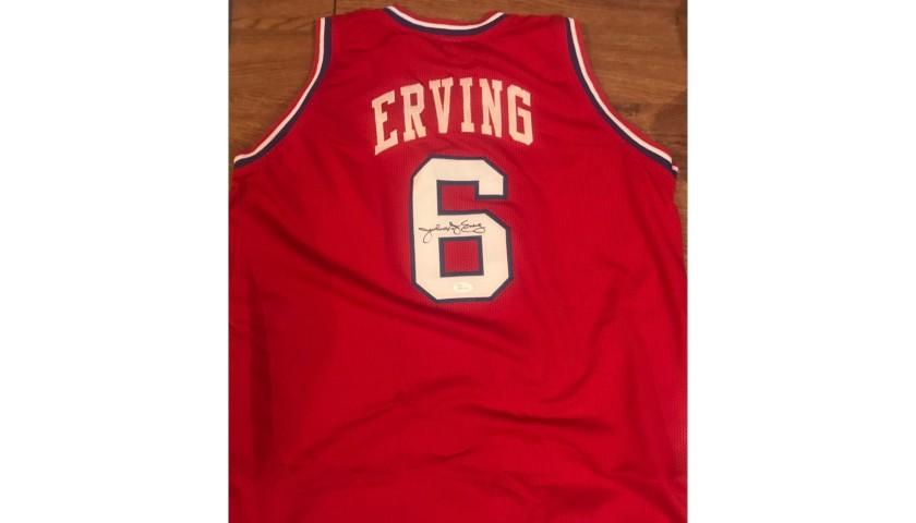 Julius Erving Signed Philadelphia 79ers Jersey JSA