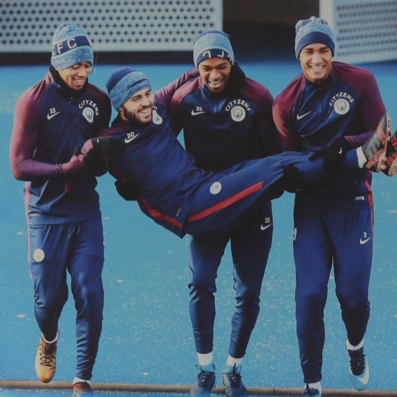 Manchester City Winter Training Session Unique Picture 2