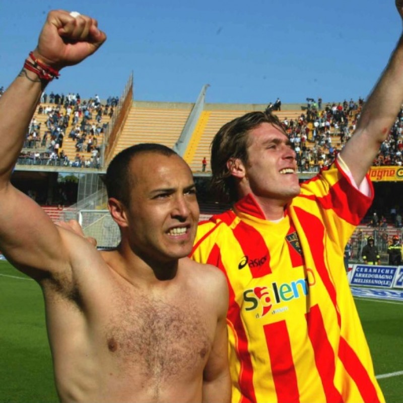 Stovini's Match Shirt, Lecce-Milan 2005