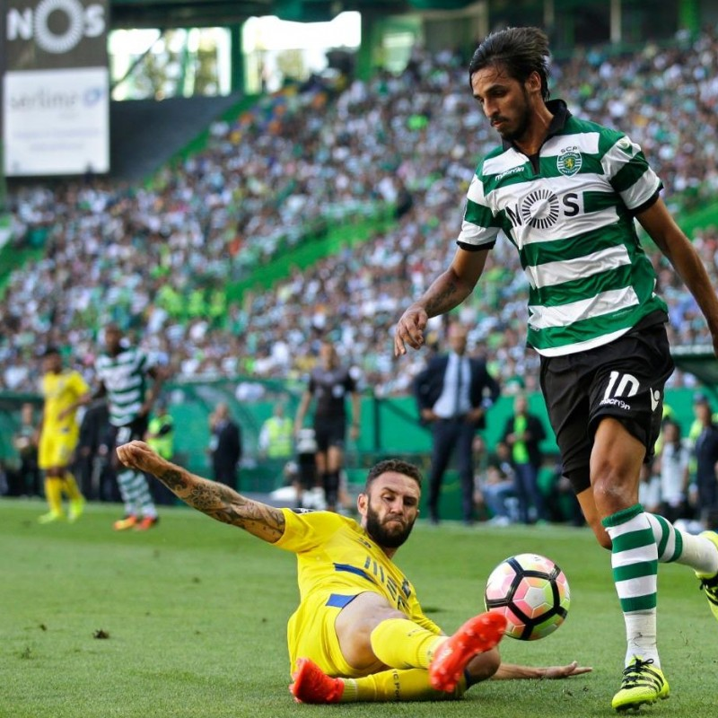 Bryan Ruiz Goal Match Worn Shirt, Estoril-Sporting CP 25/02/2017