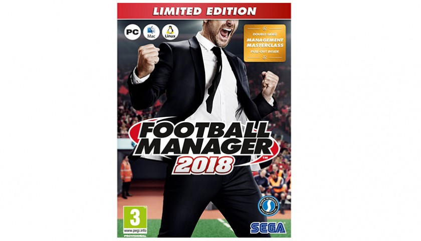 Be Immortalised and Star as a Player and Manager in Version 2018 of Football Manager
