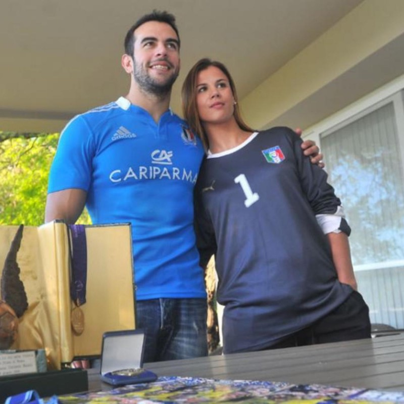 Buiatti's Italy Match Shirt, Euro 2008 Under-19