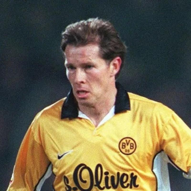 Moller S Official Borussia Dortmund Signed Shirt 1998 00 Charitystars