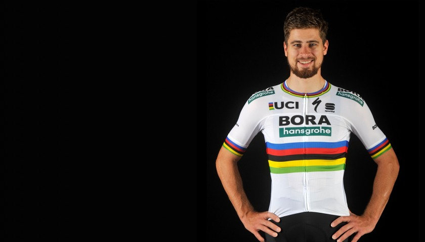 Official Bora Rainbow Jersey - Signed by Sagan