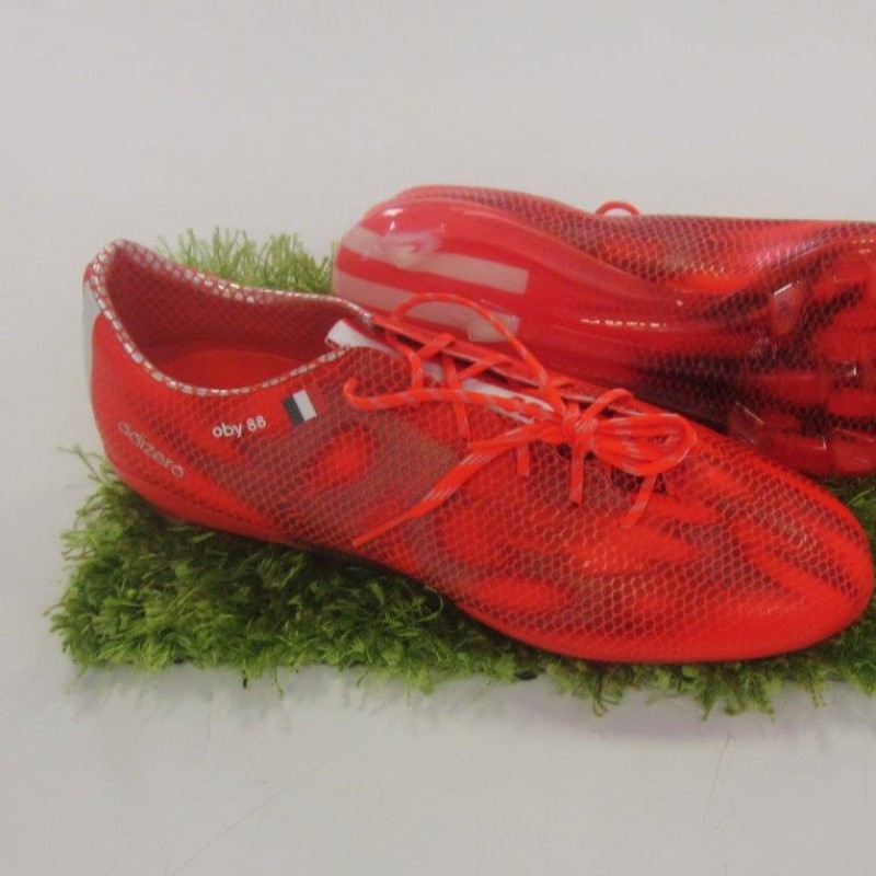 Ogbonna match issued boots, season 2014/2015