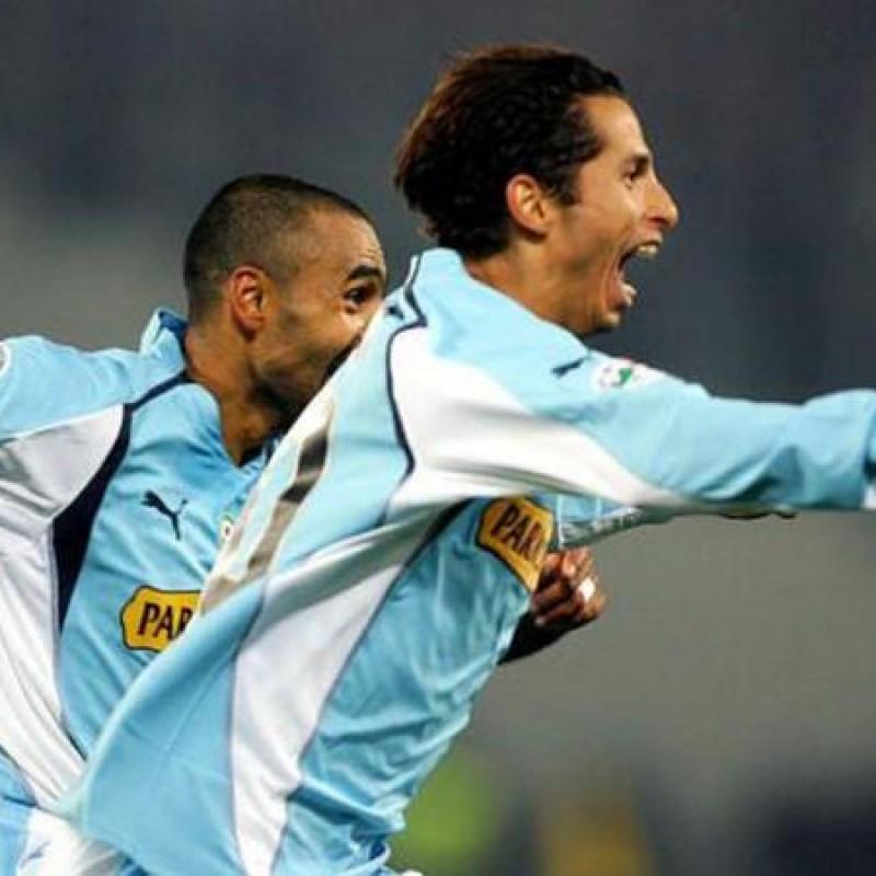 Cesar's Official Lazio Signed Shirt, 2003/04