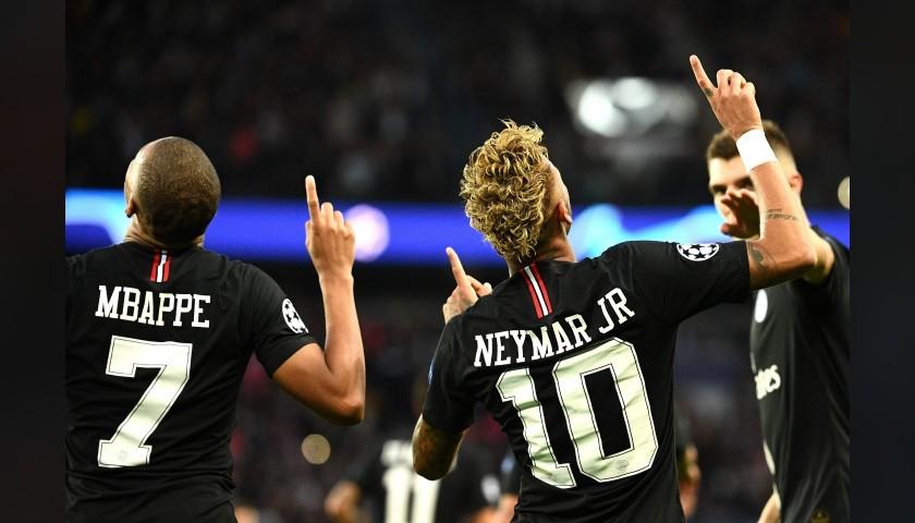 Neymar's PSG Match-Issue/Worn Shirt, UCL 2018/19