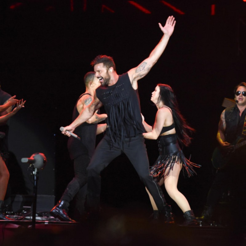 Sit in Ricky Martin's Personal Seats in Sacramento, CA