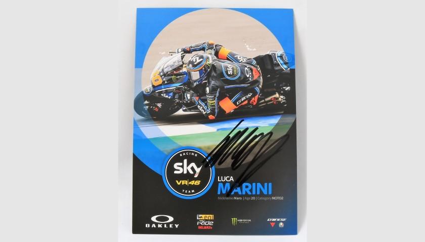 Marini Signed Photograph, Moto3
