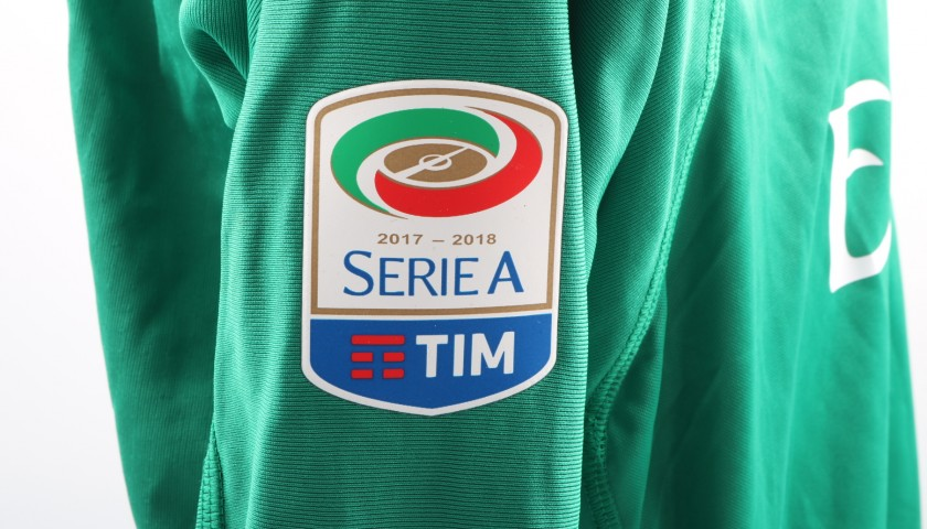 0aa700081fed2f Maglia Donnarumma indossata Milan-Inter - Patch Speciale & Unwashed -  CharityStars