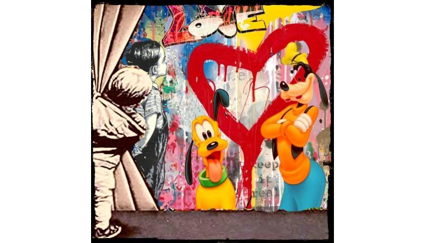 """Fantasy world vs Banksy"" by Mr Ogart"
