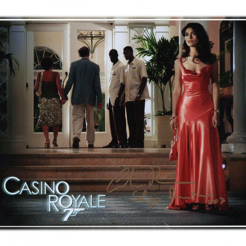 James Bond - Caterina Murino Signed Photograph