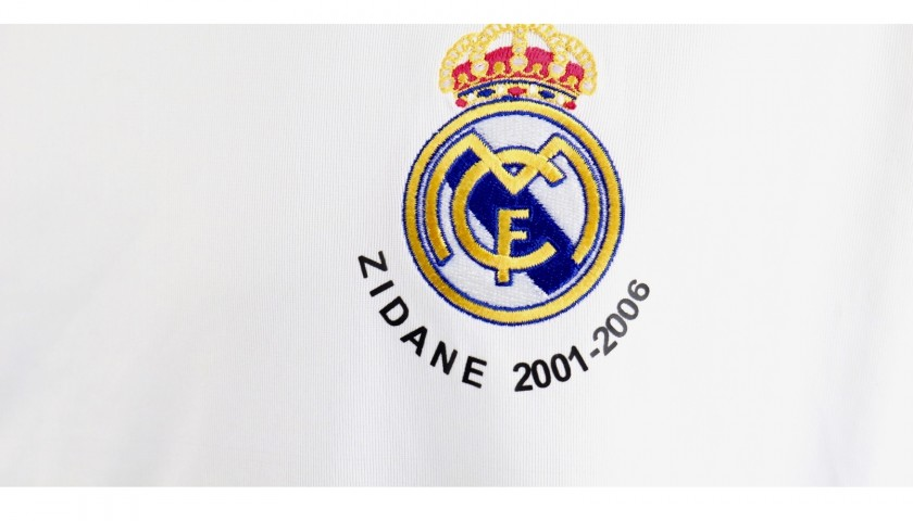 Zidane's Real Madrid Match Shirt, Last Match, 2006