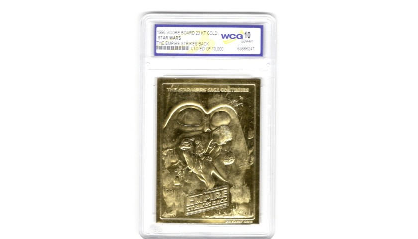 Star Wars Limited Edition Gold Card - The Empire Strikes Back