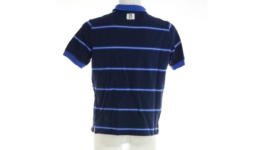 Ian McKinley's FIR Worn Polo Shirt, 2018/19