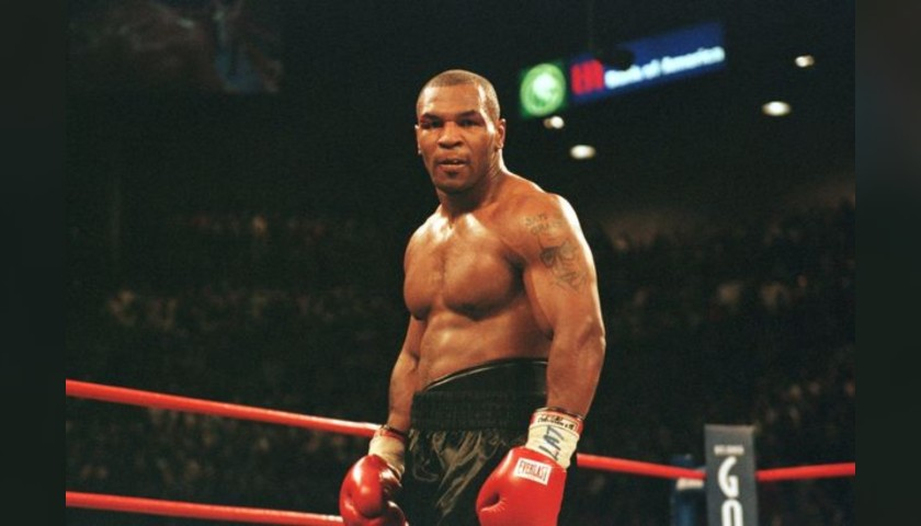 Everlast Glove Signed by Mike Tyson
